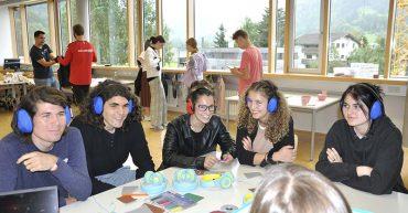 Workshop zum Thema Inklusion an der HAK Bezau mit Nicole Manser